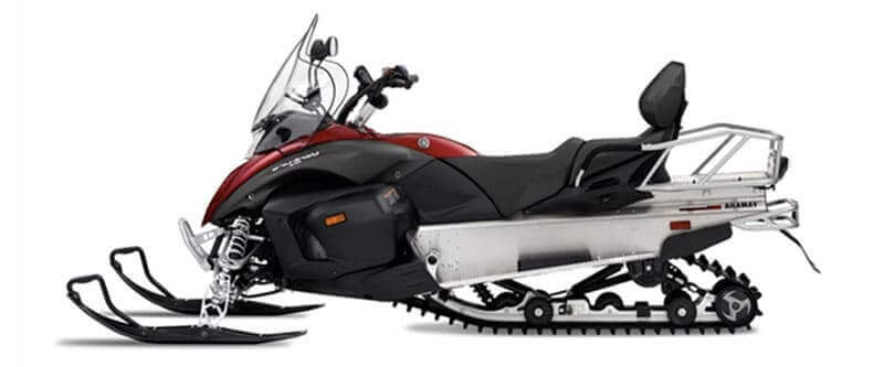 snowmobile with red stripes smaller